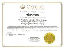 Course outline 100 hour tesol tesl tefl certification course for Tefl certificate template