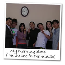 Korean ESL classroom